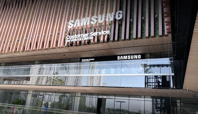 Samsung ofrece soporte residencial para productos de grandes dimensiones