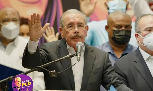 Danilo dice PLD no está muerto estaba de parranda