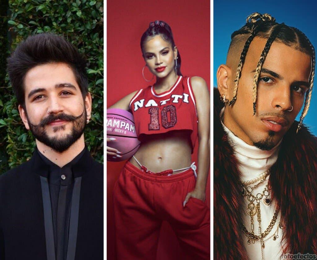 Camilo, Natti Natasha y Rauw Alejandro irán a los Monitor Music Awards