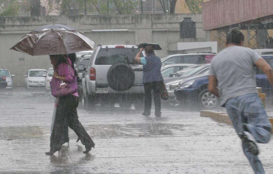 Pronostican lluvias en todo el país