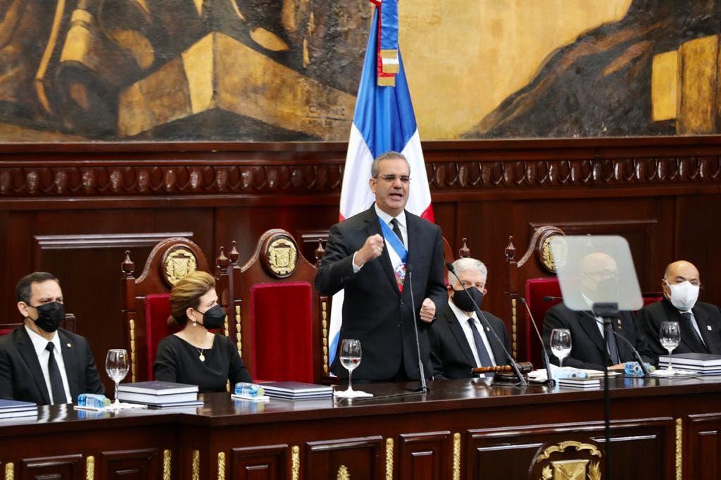 Rendición de Cuentas 20-21 Presidente Luis Abinader